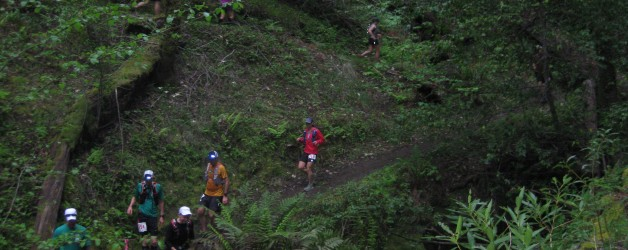 A Rainy Day at the Lake Sonoma 50 Mile